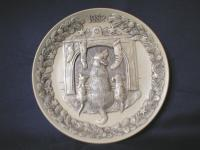 This hard to find 1982 Christmas Plate is in stock!