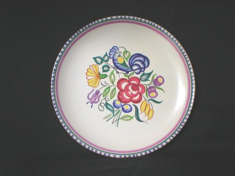 Poole Pottery plate in LE design : poole pottery dinner plates - pezcame.com